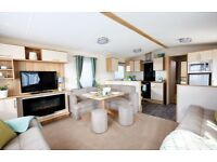 Luxury sea view caravan with decking and 2018 fees. Located in Polperro, Looe. Nr Plymouth, Exeter