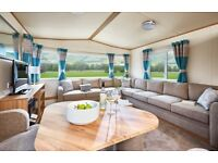 LUXURY STATIC CARAVAN FOR SALE IN THE YORKSHIRE DALES, LEYBURN. 5* OWNERS ONLY PARK - OPEN 12 MONTHS