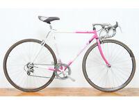 Gazelle Ventoux pink vintage racer bike 52cm ladies men
