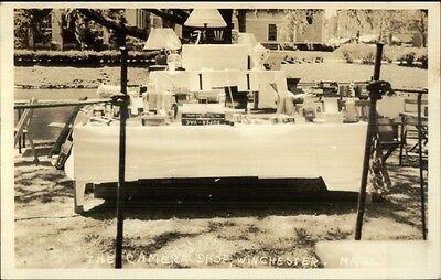 For sale Winchester MA Enka Street Fair - Real Photo Postcard #9