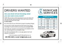 PCO Drivers Wanted on Hourly Wages! We dont ask you to hire our cars just drive them! Join our team!