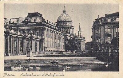 Potsdam. Stadtschloss mit Bittschriftenlinde gl1942 E8010 gebraucht kaufen  Deutschland