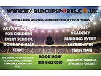 Holiday clubs for children in Harrow - Multi-Sports & Arts.