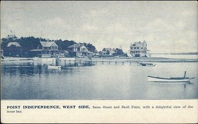 Point Independence Cape Cod Ma West Side C1910 Postcard