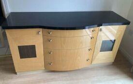 Harvey's Siena High Gloss Furniture Set