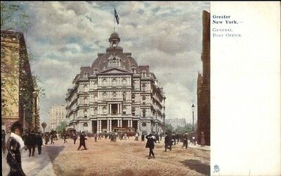 New York City Post Office Tuck  1038 C1910 Postcard