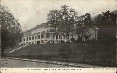 Piermont On Hudson Ny Fort Comfort Inn C1905 Postcard