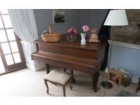 Broadwood 5ft Grand Piano Rosewood (dated 1896) for sale