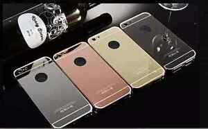 Iphone aluminium case/bumper 2 in 1 and glass tempered screen pro Melbourne CBD Melbourne City Preview