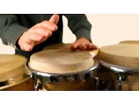 Looking for a Latin music percussionist