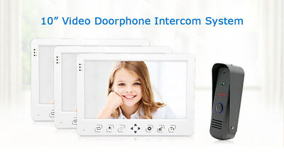 Video Doorbell Intercom 10 Inch Door Phone Outdoor Camera Door Intercom System