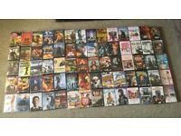 Over 70 DVD's