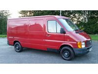 Ayrshire Red Van Man - Van and Man for Hire - 2nd man if required - Available 7 days