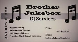 Brother Jukebox DJ services
