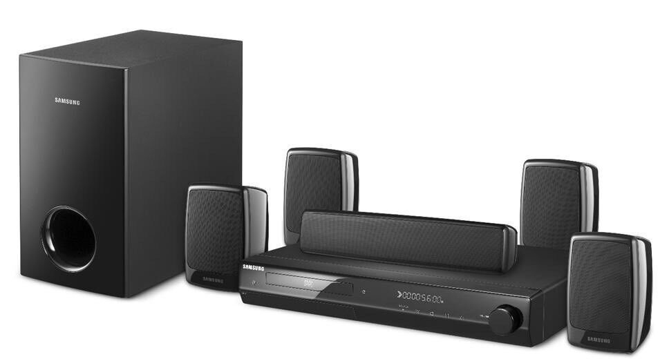 samsung ht z320 home theater system 5 1 channel. Black Bedroom Furniture Sets. Home Design Ideas