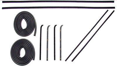 1960 1961 1962 1963 Chevrolet GMC Pickup Truck Door Weatherstrip Seal Kit New