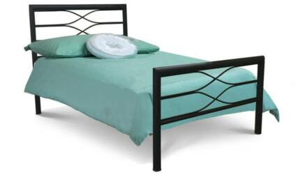 Brand New Mexx Single/King Single Bed Frame In Black