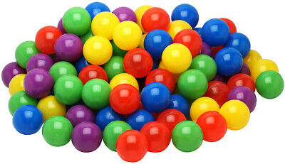 500 Plastic Balls for Bounce House or Ball Pit, Crush Resistant, Draw Mesh Bag](Ballpit Balls)