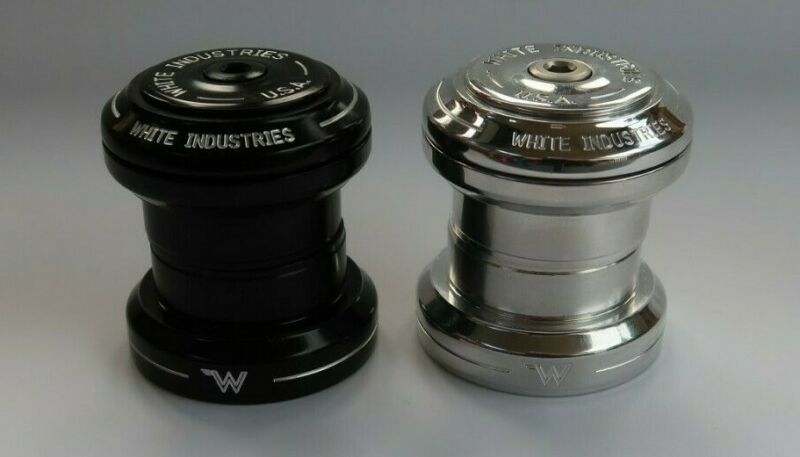 "WHITE Industries EC 34  1-1/8"" External Headset NoThread   SILVER"
