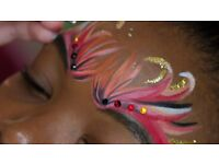 Glitterarti Face Painting Workshop with Daff Workshops