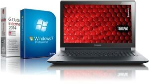 Lenovo Laptop - Intel 2x2.16 GHz - 4GB - 750GB - USB 3.0 - HDMI - Win7 Prof