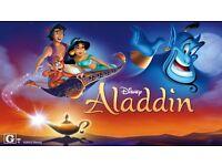 Aladdin theater tickets - March 30th 7.30pm