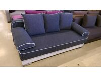 *BRAND NEW MODEL* FABRIC SOFA BED WITH SPACIOUS STORAGE (FREE DELIVERY)