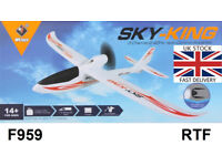 New F959 Sky King 2.4G 3 Channel RC Aircraft RTF Airplane