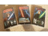 Star Wars Trilogy on VHS