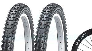 2-Bicycle-Tyres-Bike-Tires-Mountain-Bike-26-x-1-95-VC-2004-High-Quality