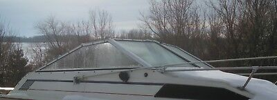COMPLETE WINDSHIELD FROM A 1983 BAYLINER CAPRI CUDDY BOAT PARTING OUT BOAT