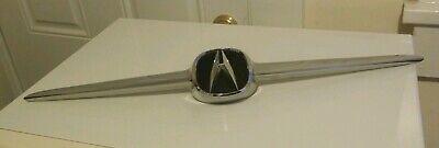 2001 2002 2003 2004 2005 2006 Acura MDX Front Grille Molding W/ Emblem OEM