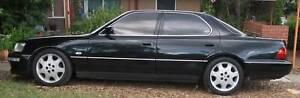 1992 Lexus LS400 Sedan for sale black metallic mechanical A1