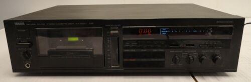 Yamaha KX-500U Natural Sound Stereo Cassette Deck Fully Functional (2C4.31.JK)