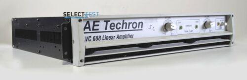 AE TECHRON LVC 608 DUAL CHANNEL LINEAR POWER AMPLIFIER ****LOOK**** (REF.: 122G)