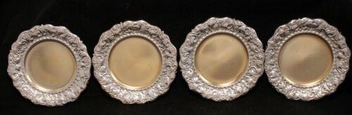 Theodore B. Starr Sterling Silver Butter Pat Bon Bon Nut Shell Plates