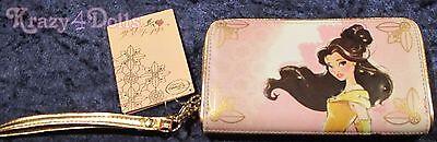 Disney Designer Art of Belle Wallet Beauty and the Beast NEW!