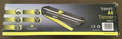 Texet A4 Paper Trimmer 4 Blades For Straight Wave Perforation Or Score