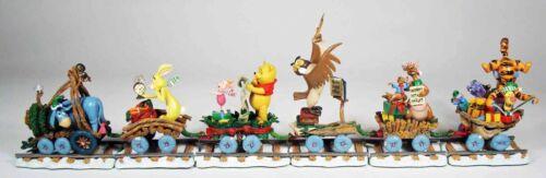 Danbury Mint:  Eeyore Holiday Train, Winnie the Pooh