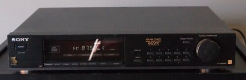 Sony ST-550ES stereo am/fm tuner- fully tested