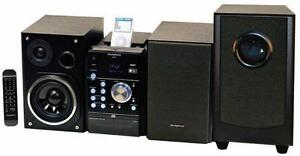 IPOD + IPHONE + USB 200 WATT AMPLIFIED MUSIC SYSTEM WITH SUB-WOOFER