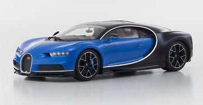 Kyosho Bugatti Chiron Blue   Black Kyo 9548Bb 1 18 New Sweeet Looking Bugatti