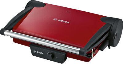 Bosch Kontaktgrill Grillplatten mit Fettablaufrinne/Fettauffangbehältern 1800 W