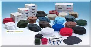 10-Disco-normal-14-Zoll-355-mm-Esponjas-para-maquina-Limpieza-de-suelo