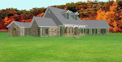 2828Sf House Plans Blueprints By Architect 3 3 2   1 Story