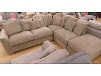 Pillow Back Corner Sofa