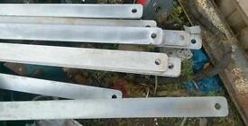 Steel Flat plates x 27