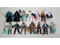 Large collection of Star Wars Mashers Figures Toys 14 Figures and accessories