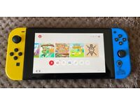 Nintendo Switch Fortnite Limited edition with 5 games