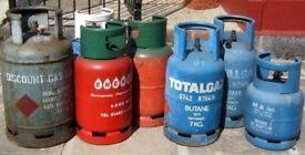 Free gas bottles